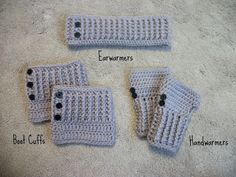 Super cute crochet winter set on Etsy! Comes in cute colors and free shipping! Must have for the cold winter months.