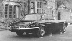 It was a styling exercise in '64, but now looks quite good and would make a great project car of rod, grafting a E-Type back end to an XJ after all same diff, brakes etc...This pic is Jaguar E-type saloon, XJ4, 1964. (Jagmania sourced pic)