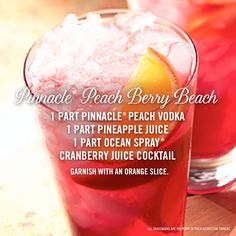 The perfect cocktail recipe for a day on the beach! #cocktails #summer #recipe