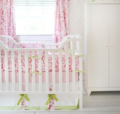 New Arrivals Bloom in Pink Baby Bedding