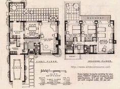 A Few More Art Deco and Art Moderne House Plans   Art Deco Resource