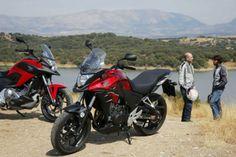 Comparativa: Honda CB500X y NC700X DCT