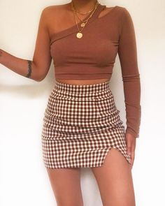 Likes, 49 Comments - Daily Outfits Girly Outfits, Skirt Outfits, Trendy Outfits, Fall Outfits, Summer Outfits, Cute Outfits, Cute Fashion, Girl Fashion, Fashion Outfits