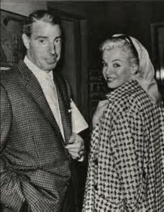 Joe And Marilyn March 1961 ศ ⅈ γ ᔿ ꏢ Ꮛ