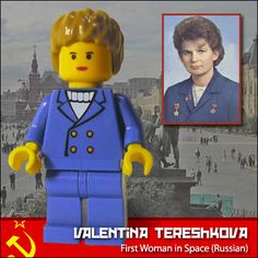 https://flic.kr/p/5GnB8P | Valentina Tereshkova | First Woman in Space (Russian)