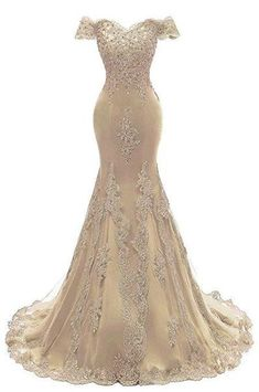 online shopping for Himoda Women's V Neckline Beaded Evening Gowns Mermaid Lace Prom Dresses Long from top store. See new offer for Himoda Women's V Neckline Beaded Evening Gowns Mermaid Lace Prom Dresses Long Mermaid Prom Dresses Lace, Gold Prom Dresses, Long Prom Gowns, Bridal Dresses, Wedding Gowns, Lace Dress, Lace Mermaid, Tulle Lace, Party Wedding