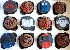 Dr. Who cupcake!!