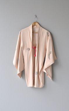 Sasayakimasu haori vintage silk kimono jacket by DearGolden