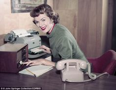 Secretary 1950's