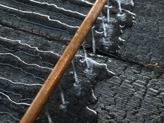 shou-sugi-ban - A Japanese technique of charring siding boards actually makes it fire resistant and more durable than raw wood. The blackened wood has wonderful design potential as well!