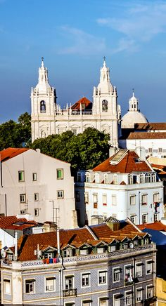 Panoramic view on Saint Vicente de Fora Monastery, Lisbon, Portugal | 32 Stupendous Places in Portugal every Travel Lover should Visit