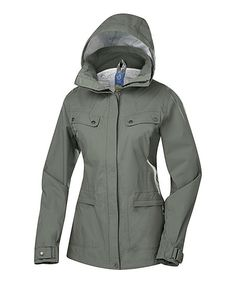 Lichen Raindrop Coat $55 from Zulily - Cute and inexpensive!