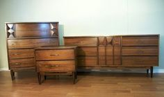 Mid-century bedroom set.  One day, I will find my own.