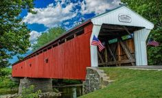 1860 Eldean Covered Bridge - OH.
