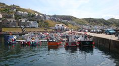 Gardenstown from the Harbour Scotland
