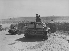 Panzerbefehlwagen III Ausf.H in the Libyan desert. Pin by Paolo Marzioli