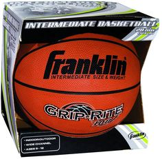 Franklin Sports Intermediate B6 Grip-Rite 100 Basketball $19.00 Soccer Gear, Basketball Teams, Fall Forward, Furniture Sale, The 100, Sports, Dining Room, Autumn, Orange