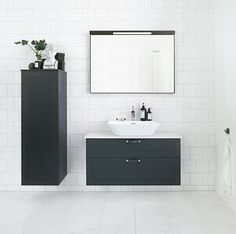 Stil - A new collection of classic, timeless furniture that can be built as you choose. Bathroom Vanity Cabinets, Bathroom Furniture, Bathroom Interior, Tiny Bathrooms, Small Bathroom, Bathroom Inspo, Bathroom Inspiration, Bathroom Ideas, Guest Toilet