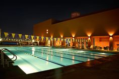 Outdoor pool at Bakar Fitness & Recreation Center at UCSF Mission Bay