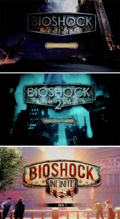 Bioshock: the Collection Title Screens