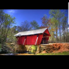 The last covered bridge in South Carolina.  Metal prints enhance the colors. Plus since they're metal they're easy to clean. Check out the entire gallery! Share with a photographic art lover. http://ift.tt/2otfNrm