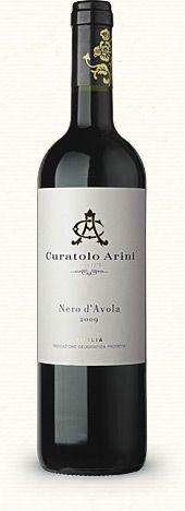 Curatolo Arini Single Vineyard Nero D'Avola 2009