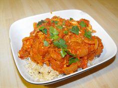 Murgh Makhani ~ Curry Chicken hungryhealthyhappy.com