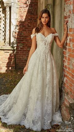3b2eeb7e0b4 Eve of Milady 2018 A-line bridal gown Eve Of Milady Wedding Dresses