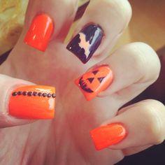 Holloween nails !!!