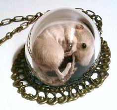 Dead mouse pendant!