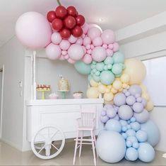 #icecreambirthdayparty #balloongarland #partydecor