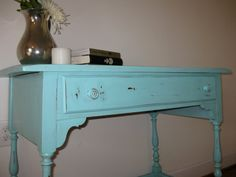 more blue desks! doesn't match anything in my house but i need one