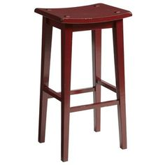 Lawson Backless Barstool - Red