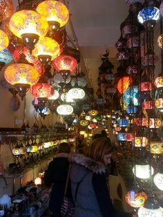Pretty lanterns in Camden