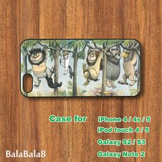 Where the Wild Things Are  - Blackberry Q10 , Z10 case, iPhone  5 / 4 case,  iPod 5 / 4 case,  Samsung S3, samsung S4 case, Galaxy note 2 on Etsy, $15.86 CAD