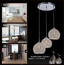 Envío gratis ahorro de energía de luz-amortiguador restaurante hogar absorber la luz de bóveda luz de techo de aluminio droplight trenza(China (Mainland))