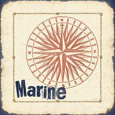 Vintage Nautical-jp2754 Painting