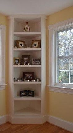 Ideas for corner shelves