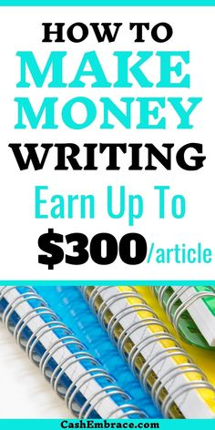 Make money writing: how to get paid to write online. These writing online jobs for beginners can earn you a decent online income. Make money from home writing for websites and magazines. You can easily make money online with your writing skills - cash in as up as $300/article. Extra income ideas if you consider yourself a decent writer.#writing#makemoneywriting#getpaidtowrite#writingonlinejobs#makemoneyonline#writingideastomakeextracash Make Money Writing, Make Money Blogging, Make Money From Home, Way To Make Money, Make Money Online, How To Make, Online Income, Online Jobs, Online Writing Jobs
