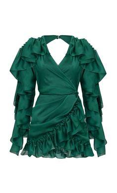 Chiffon Ruffle, Ruffle Dress, I Dress, Ruffles, Strapless Dress, Stage Outfits, Blouse Styles, Classy Outfits, Beautiful Dresses