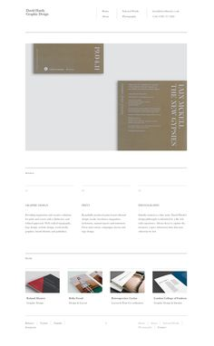David Hardy is a West Wales based graphic designer & fine artist specialising in modern and refined, print and web design. Graphic Design Layouts, Layout Design, Simple Web Design, David, Website, Photography, Photograph, Fotografie, Photoshoot