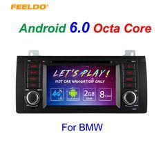 "7"" Android 6.0 (64bit) DDR3 2G/32G/4G LTE Octa Core Car DVD GPS Radio Head Unit For BMW 3 Series E39/X5 E53/M5(96~03)"
