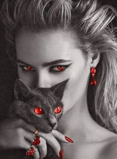red eyes witch