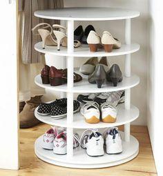 weißer-Schuhregal-bauen-runde-Kanten