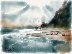 david rankin watercolor | Plein Air Landscapes in a 5 -10 minutes