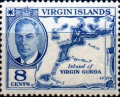 British Virgin Islands Stamps 1952 King George VI Sheep SG 141 Fine Used Scott…