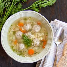 Mom's Meatball Soup Recipe