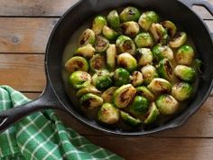 Incredibly tender and buttery, these sprouts can stand up to any rich #ThanksgivingSide.