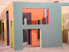 Espace-couleurs, de Krijn de Koning, au Centquatre, à Paris - main tenant