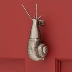 Brass Snail Door Knocker ...  Here's where you can get a snail door knocker for sale.  Different finishes.